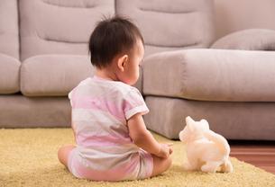 赤ちゃん・後ろ姿の写真素材 [FYI01207413]