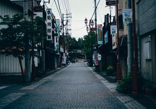 秩父の商店街の写真素材 [FYI01207435]