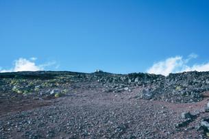 富士山の登山道の写真素材 [FYI01207451]