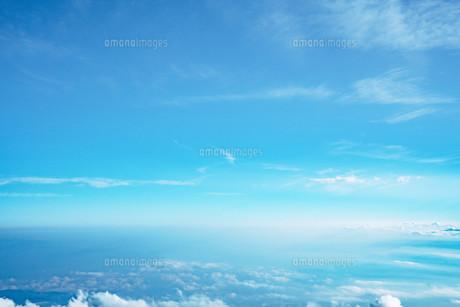 富士山から見える雲海の写真素材 [FYI01207452]