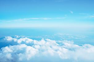 富士山から見える雲海の写真素材 [FYI01207453]