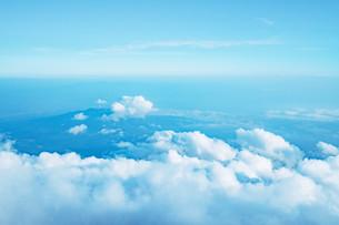 富士山から見える雲海の写真素材 [FYI01207454]