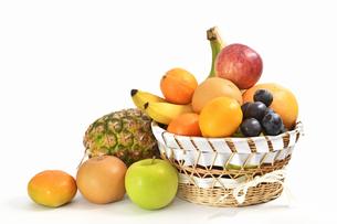 果物の盛り合わせの写真素材 [FYI01207516]