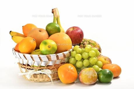 果物の盛り合わせの写真素材 [FYI01207517]