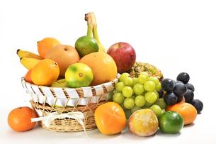 果物の盛り合わせの写真素材 [FYI01207518]