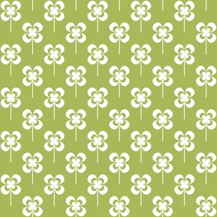 クローバー パターンのイラスト素材 [FYI01207644]