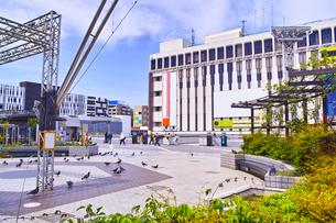 戸塚駅東口の風景の写真素材 [FYI01207779]