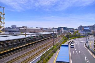 戸塚駅西口の風景の写真素材 [FYI01207781]