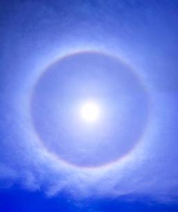 日暈の写真素材 [FYI01207786]