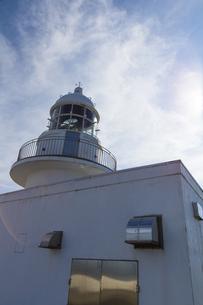 龍飛岬灯台 夏の写真素材 [FYI01207968]