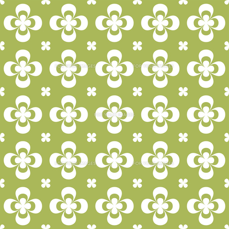 クローバー パターンのイラスト素材 [FYI01208033]