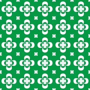 クローバー パターンのイラスト素材 [FYI01208034]