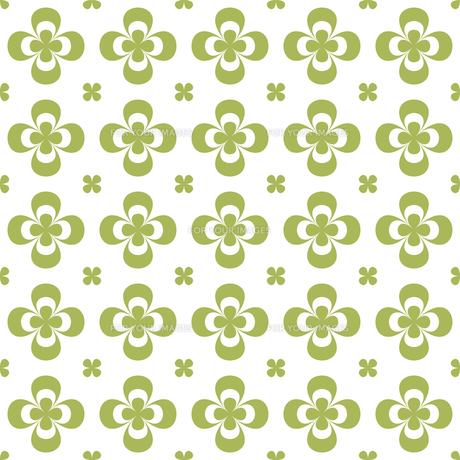 クローバー パターンのイラスト素材 [FYI01208036]