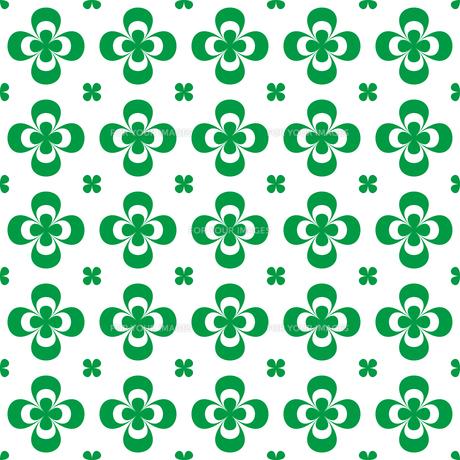 クローバー パターンのイラスト素材 [FYI01208037]