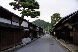 近江八幡の町並み 歴史の道の写真素材 [FYI01208071]