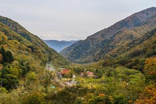 秋の水上町の風景の写真素材 [FYI01208263]
