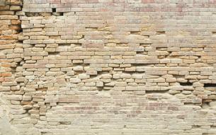 古いレンガ壁の写真素材 [FYI01208430]