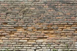古いレンガ壁の写真素材 [FYI01208431]