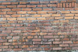 古いレンガ壁の写真素材 [FYI01208439]