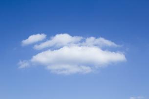 青空と雲の写真素材 [FYI01208468]