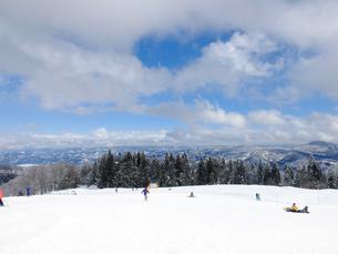 スキー場の写真素材 [FYI01208654]