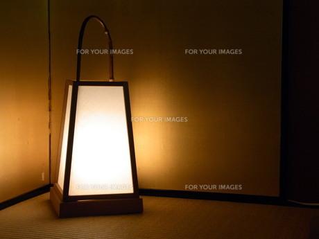行燈の写真素材 [FYI01209069]