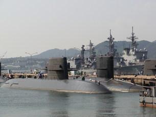 潜水艦 アレイからすこじまの写真素材 [FYI01209071]