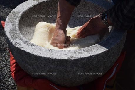 餅つきの写真素材 [FYI01209163]