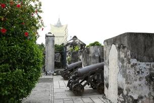 マカオ モンテの砦の写真素材 [FYI01209208]