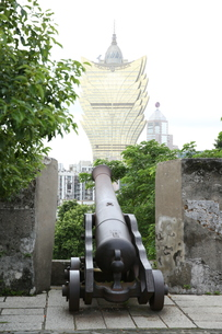 マカオ モンテの砦の写真素材 [FYI01209209]