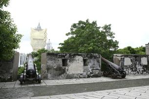 マカオ モンテの砦の写真素材 [FYI01209210]