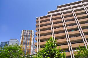 武蔵小杉の高層マンションの写真素材 [FYI01209462]