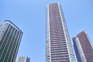 武蔵小杉の高層マンションの写真素材 [FYI01209468]