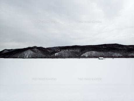 静寂の街の写真素材 [FYI01209898]