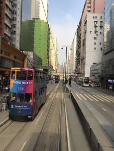香港 軒尼詩道の写真素材 [FYI01209973]
