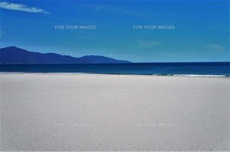 白浜のビーチリゾートの写真素材 [FYI01210122]