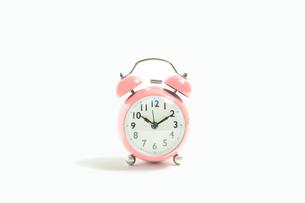 目覚まし時計 シンプルコレクションの写真素材 [FYI01210216]