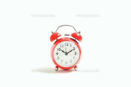目覚まし時計 シンプルコレクションの写真素材 [FYI01210225]