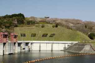 十王ダムの写真素材 [FYI01210323]