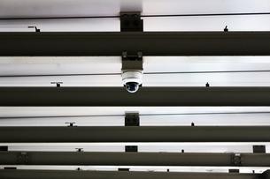 都会を見守る監視カメラの写真素材 [FYI01210329]