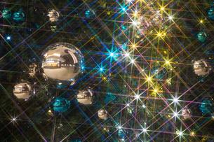 クリスマスツリーのオーナメントの写真素材 [FYI01210759]
