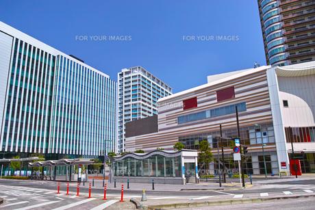 武蔵小杉駅東口の風景の写真素材 [FYI01210776]