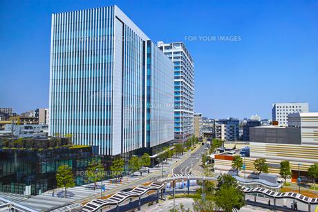 武蔵小杉駅東口の風景の写真素材 [FYI01210782]