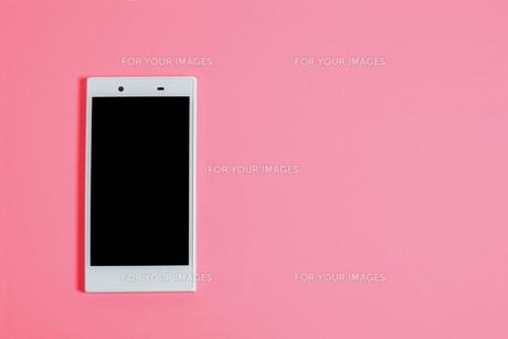 スマートフォン シンプルパターンの写真素材 [FYI01210899]