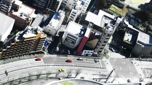 東京の街のジオラマ風写真の写真素材 [FYI01211528]