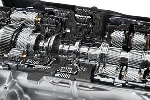 車のトランスミッションの写真素材 [FYI01211676]