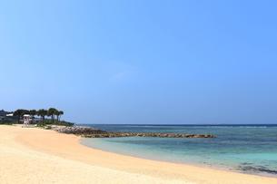 南国の美しいビーチの写真素材 [FYI01211801]