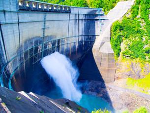 黒部ダムの写真素材 [FYI01211993]