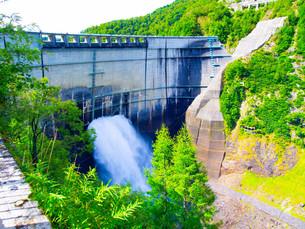 黒部ダムの写真素材 [FYI01211996]