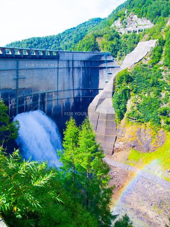 黒部ダムの写真素材 [FYI01211997]